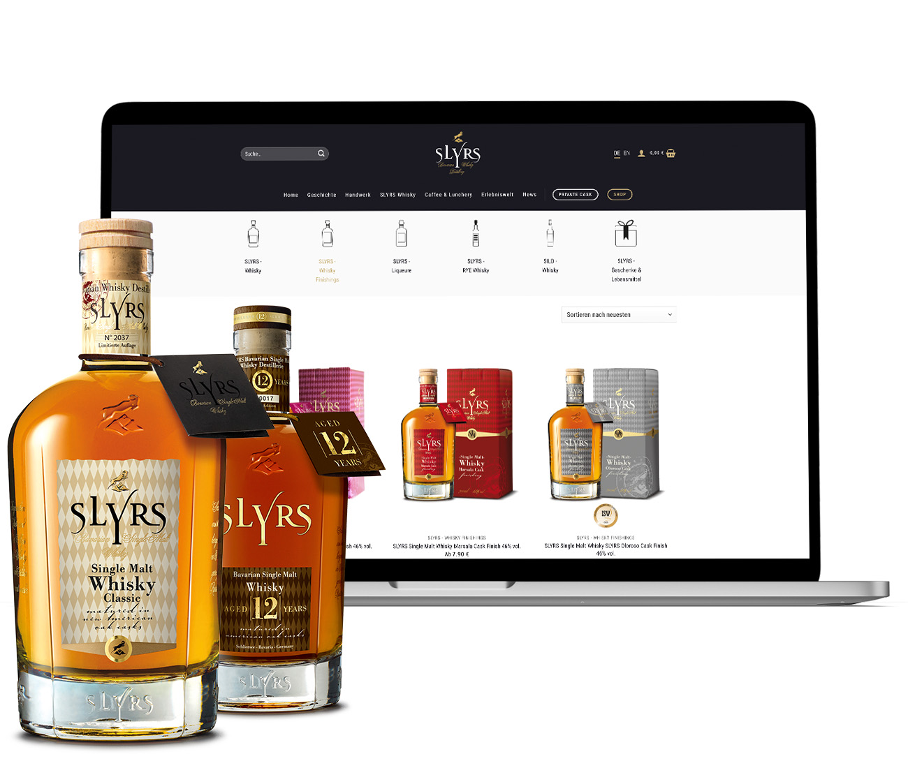 SLYRS Bavarian Whisky Distillery Online-Shop